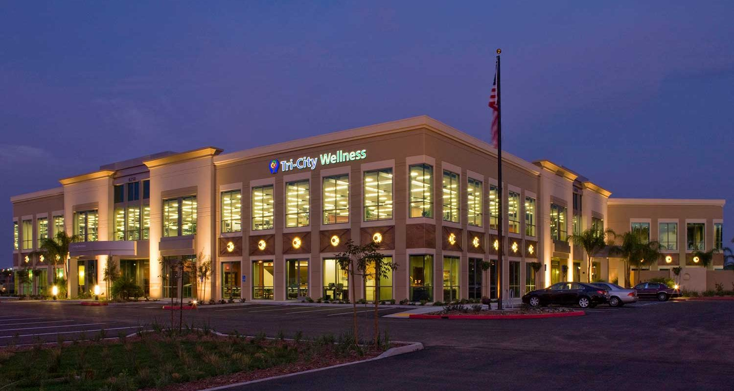 Tri-City Medical Office Building, Night 1