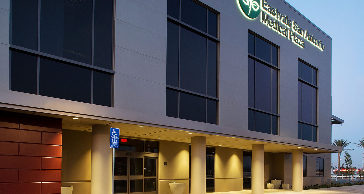 Eastvale San Antonio Medical Plaza Exterior Night 2
