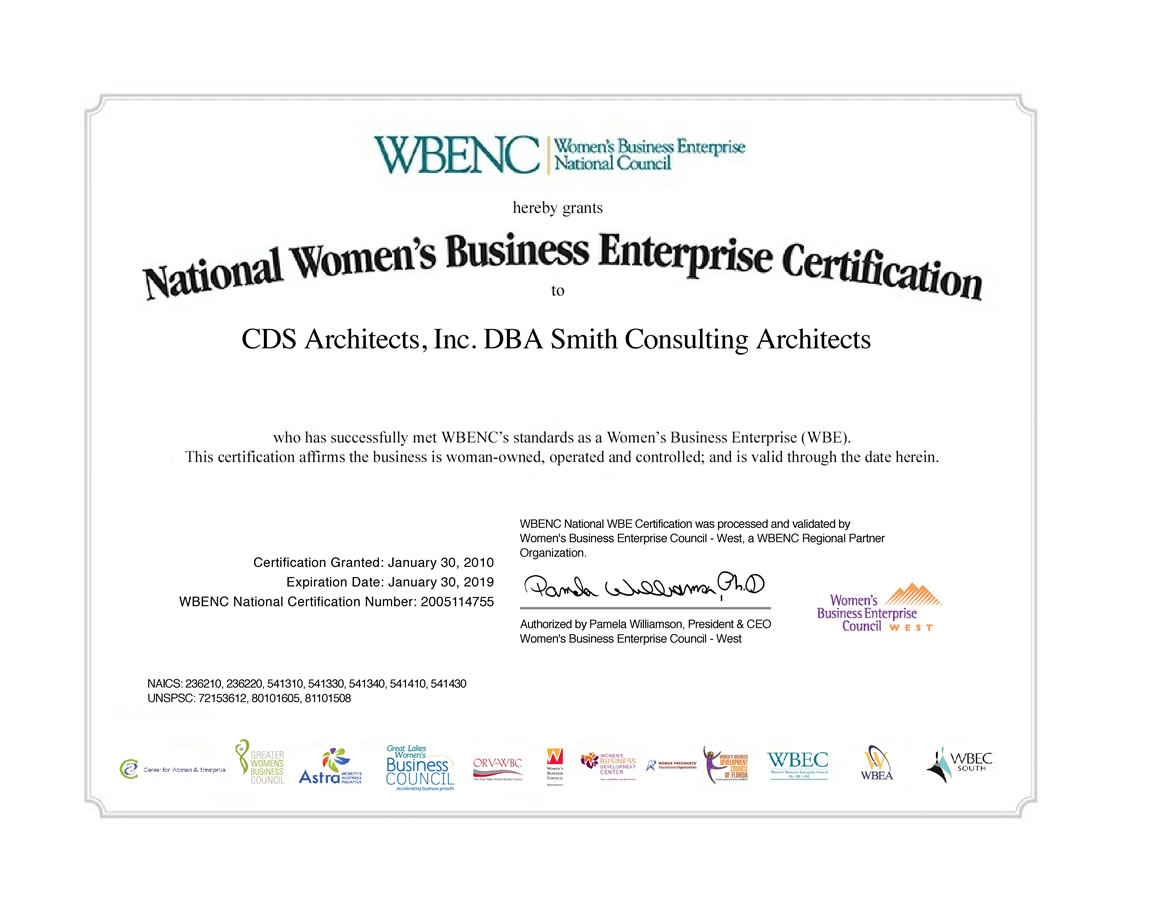 Womans Business Enterprise Wbe Certification Smith Consulting